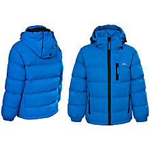 Buy Trespass Boys' Tuff Jacket, Ultramarine Online at johnlewis.com