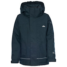 Buy Trespass Boys' Cornell Waterproof Jacket, Navy Online at johnlewis.com