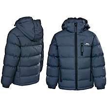 Buy Trespass Boys' Tuff Jacket, Grey Online at johnlewis.com