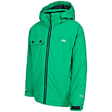 Buy Trespass Hooded Jacket, Green Online at johnlewis.com
