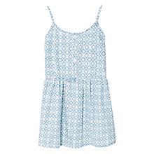 Buy Mango Kids Girls' Printed Dress, Open Blue Online at johnlewis.com