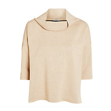 Buy Marella Parata Short Sleeve Jumper, Powder Online at johnlewis.com