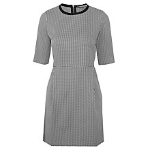 Buy Marella Pianta Dress, White/Black Online at johnlewis.com