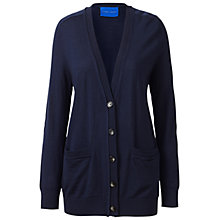Buy Winser London Boyfriend Cardigan, Midnight Online at johnlewis.com
