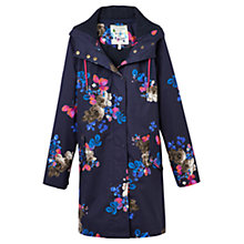 Buy Joules Raina Waterproof Parka, Marine Navy Floral Online at johnlewis.com