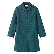 Buy Toast Textured Coat, Navy/Green Online at johnlewis.com
