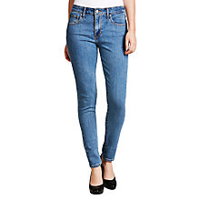 Buy Levi's 721 High Rise Skinny Jeans, Wild Sea Online at johnlewis.com