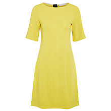 Buy Marella Calca Short Sleeve Dress, Yellow Online at johnlewis.com