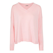 Buy Marella Inizio V-Neck Jumper, Pink Online at johnlewis.com