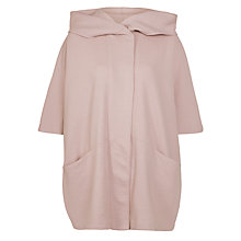 Buy Marella Itala Wool Cape, Powder Online at johnlewis.com