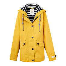 Buy Joules Right as Rain Coast Waterproof Jacket, Antique Gold Online at johnlewis.com