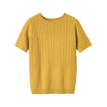 Buy Toast Crew Neck Jumper, Ochre Online at johnlewis.com