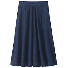 Buy Toast Full Denim Skirt, Indigo Online at johnlewis.com