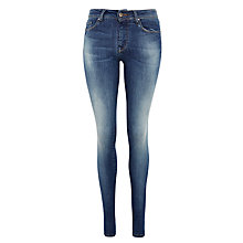 Buy Salsa Colette Skinny Jeans, Mid Blue Online at johnlewis.com