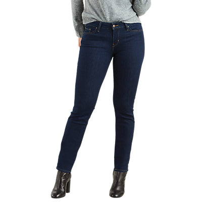 Levi's 712 Mid Rise Slim Jeans, Lone Wolf