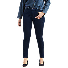 Buy Levi's 721 High Rise Skinny Jeans, Lone Wolf Online at johnlewis.com