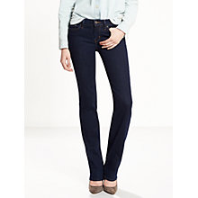 Buy Levi's 714 Mid Rise Straight Jeans, Lone Wolf Online at johnlewis.com