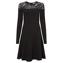Buy Marella Delta Jersey Dress, Black Online at johnlewis.com