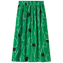 Buy Toast Print Skirt, Cobalt Green Online at johnlewis.com