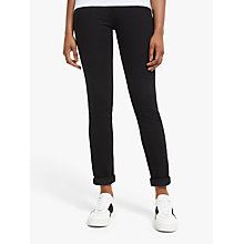 "Buy Levi's 712 30"" Slim Jeans, Black Sheep Online at johnlewis.com"