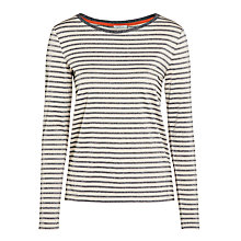 Buy Marella Cosa Metallic Stripe Top Online at johnlewis.com