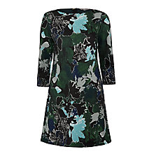 Buy Marella Brio Printed Dress, Underwood Green Online at johnlewis.com