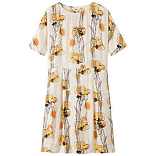 Buy Toast Sketched Floral Dress, Off White Online at johnlewis.com