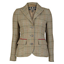Buy Barbour Carter Tailored Jacket, Mid Olive Online at johnlewis.com