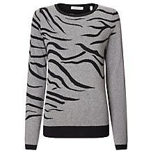 Buy Marella Ebano Jumper, Melange Grey Online at johnlewis.com