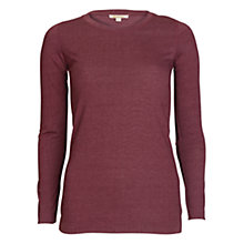 Buy Barbour Tors Top, Wine Online at johnlewis.com