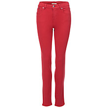 Buy Barbour Essential Slim Trousers, Bordeux Online at johnlewis.com