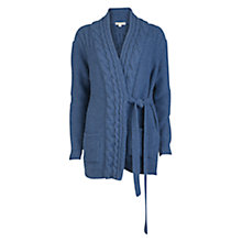 Buy Barbour Carter Wrap Cardigan, Navy Online at johnlewis.com