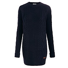 Buy Barbour Carter Knit Dress, Navy Online at johnlewis.com