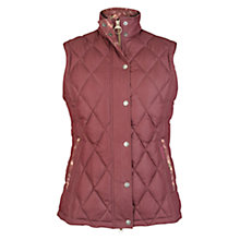 Buy Barbour Tors Gilet, Bordeaux Online at johnlewis.com