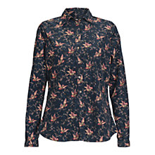 Buy Barbour Print Shirt, Navy Bird Online at johnlewis.com