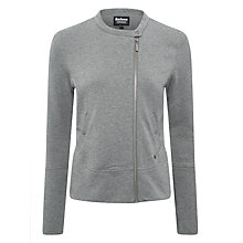 Buy Barbour International Springer Sweatshirt, Light Grey Marl Online at johnlewis.com