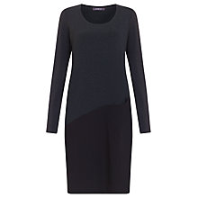 Buy Crea Concept Assymetric Panel Dress, Grey Online at johnlewis.com
