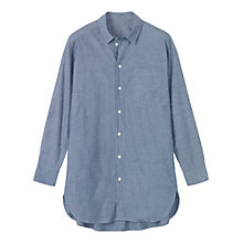 Buy Toast Chambray Men's Style Shirt, Chambray Online at johnlewis.com