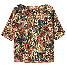 Buy Toast Kimono Sleeve Top, Multi Online at johnlewis.com