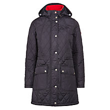 Buy Barbour Kirkby Quilted Jacket, Navy Online at johnlewis.com