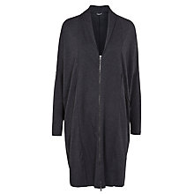 Buy Crea Concept Zip Up Long Oversized Jacket Online at johnlewis.com