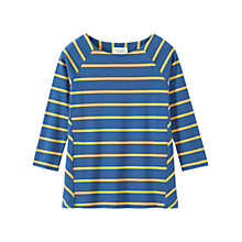 Buy Toast Interlock Wide Stripe T-Shirt Online at johnlewis.com