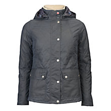 Buy Barbour Bartlett Quilted Wax Jacket, Navy Online at johnlewis.com
