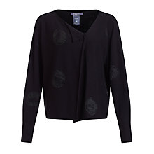 Buy Crea Concept Assymetric Spot Jumper, Black Online at johnlewis.com