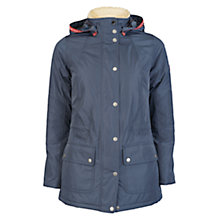 Buy Barbour Aspley Jacket, Navy Online at johnlewis.com