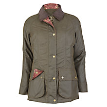 Buy Barbour Tors Waxed Jacket, Olive Online at johnlewis.com