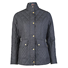 Buy Barbour Tors Quilted Jacket, Navy Online at johnlewis.com