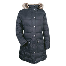 Buy Barbour Buoy Quilted Jacket, Navy Online at johnlewis.com