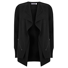 Buy Mint Velvet Double Front Cardigan, Black Online at johnlewis.com