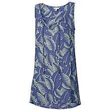 Buy Fat Face Chambray Kingston Tunic, Blue Online at johnlewis.com